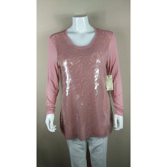 33101bfed96 Reba McIntyre Rose Clear Shell Tunic